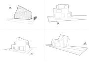 Vier Häuser
