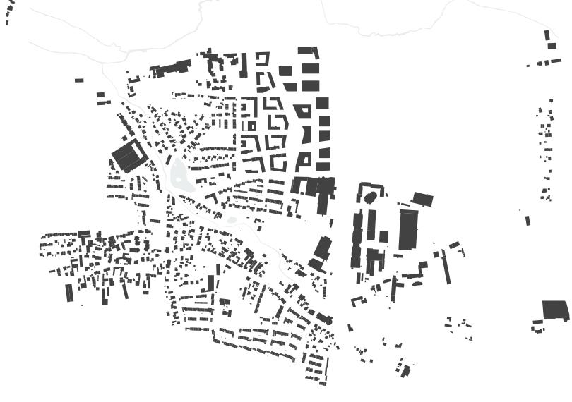 Zwischen Stadt und Land